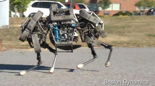boston dynamics wildcat robot