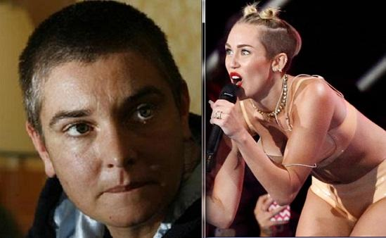 Sinead O'Connor and Miley Cyrus
