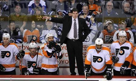 Winless Flyers Fire Coach Laviolette After Three Games