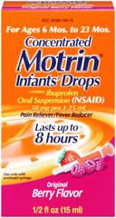 Infant Motrin Recall 2013: One Month Later, Drops Still Being Recalled For Containing Plastic Particles [LIST]