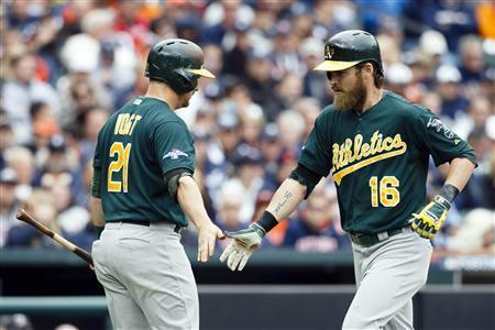 A's Use Long Ball To Push Tigers To Brink