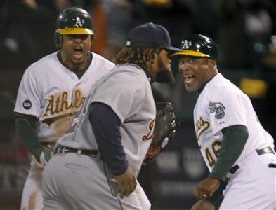 Detroit Tigers Oakland Athletics