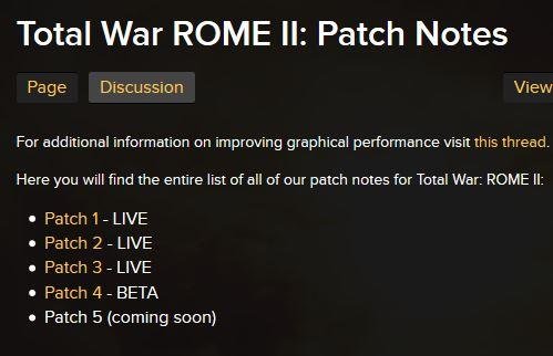 Total War: Rome 2 Patch 5