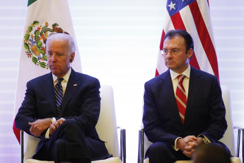 Biden and Videgaray