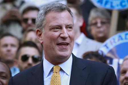 Bill de Blasio Is Just 'Obama 2.0'