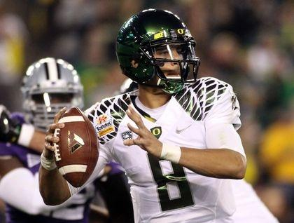 Mariota, Manziel Heisman Favorites