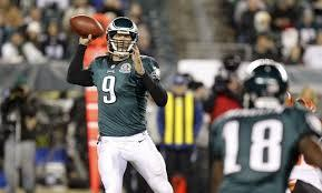 Nick Foles Gets Start Against Cowboys