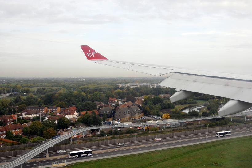 Heathrow Landing