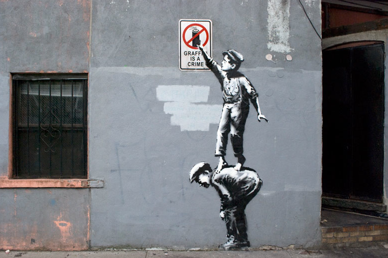 Banksy NYC October 1st
