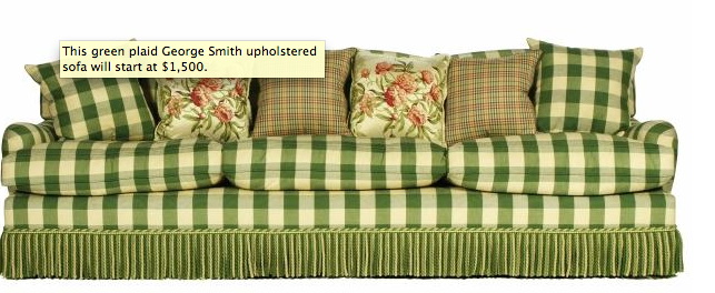 Oprah's George Smith Sofa