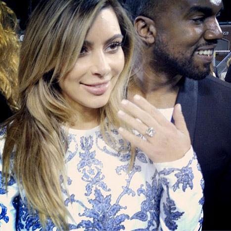 Kim Kardashian Ring: When Will She Marry Kanye West? [PHOTO]