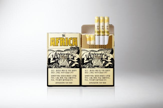"""This Africa"" cigarettes"