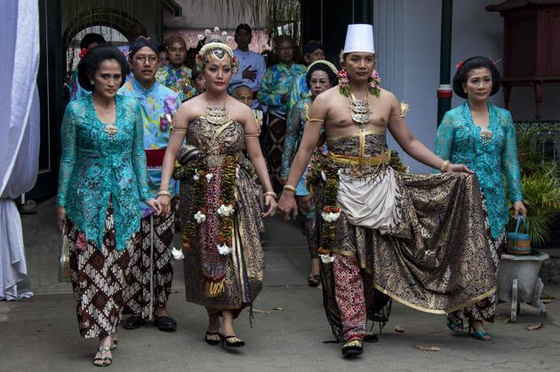 Royal wedding in Java