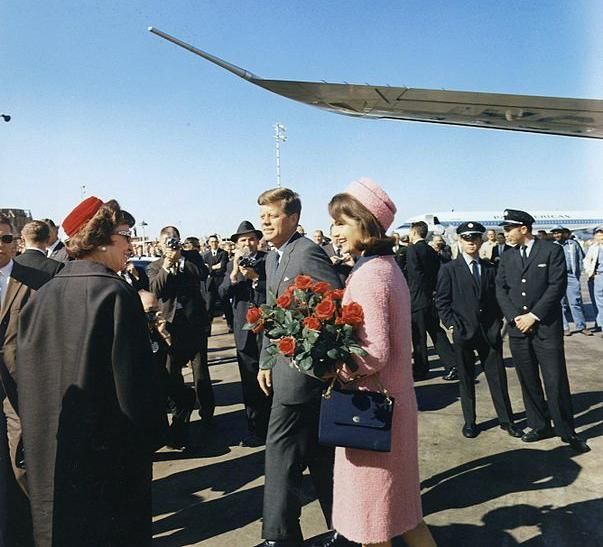 JFK Jacqueline Dallas Love Field 22Nov1963