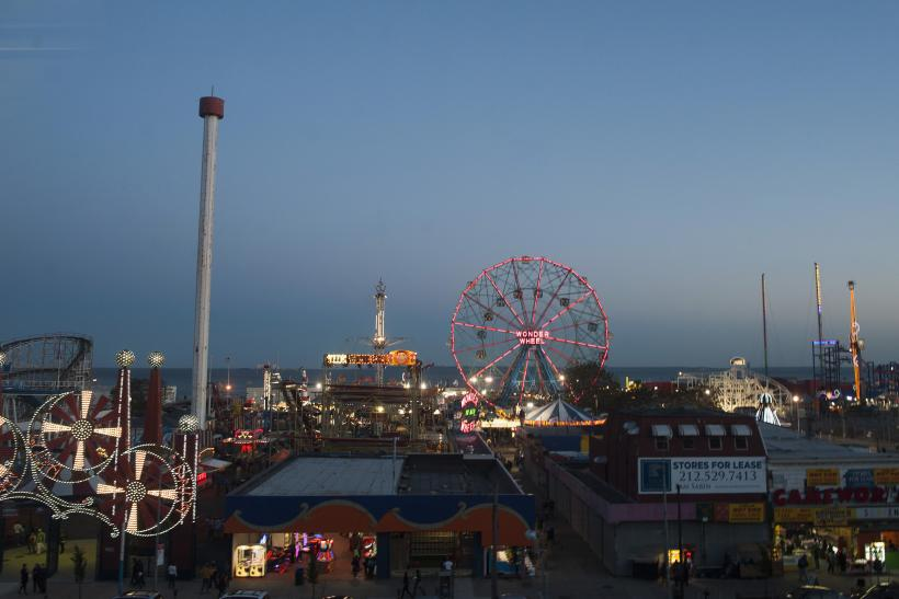 Coney Island One Year After Sandy
