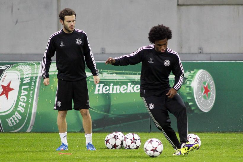 Juan Mata, Willian