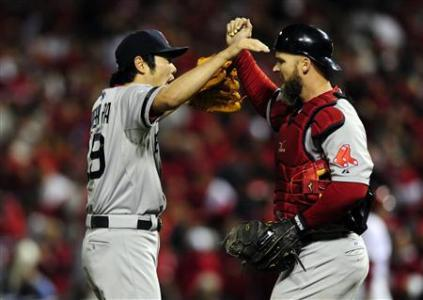Red Sox On Brink Of Championship After Beating Cards