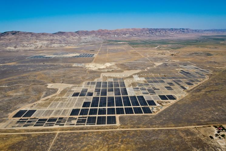 The California Valley Solar Ranch