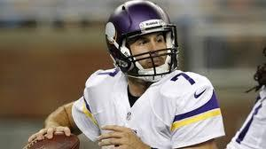 Christian Ponder Gets The Call Over Josh Freeman