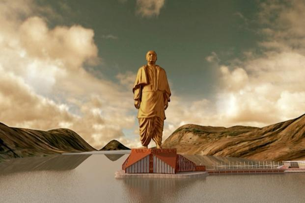 Proposed statue of Sardar Patel