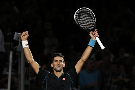 Djokovic Beats Ferrer To Win Paris Masters Title