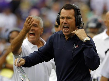 Texans Coach Kubiak Hospitalized After Halftime Collapse