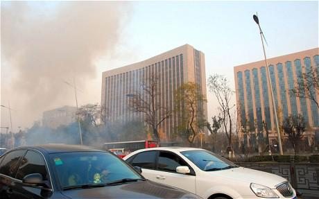 Bombs Go Off Outside Communist Party Building In Northern China
