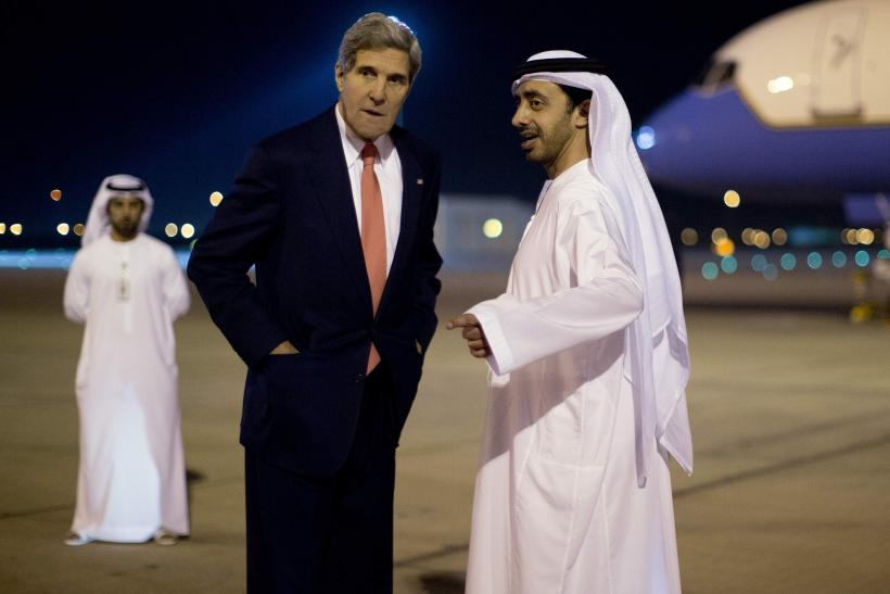Kerry in Abu Dhabi