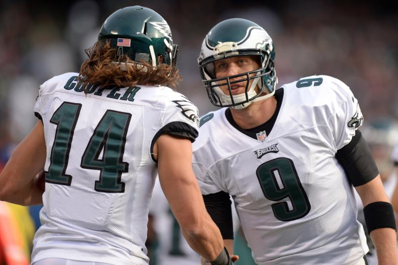 Riley Cooper Nick Foles Philadelphia Eagles