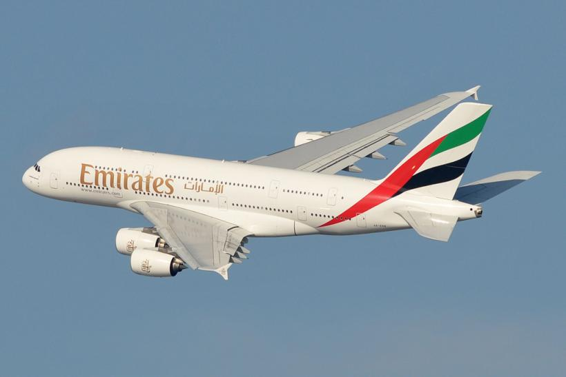 Emirates Airline A380 by Riva