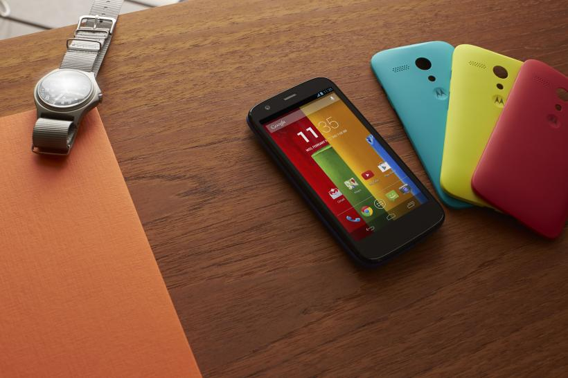 Moto G Announcement Motorola Google