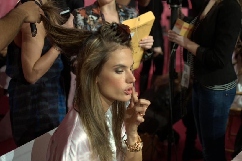 Victoria's Secret Fashion Show 2013 Backstage