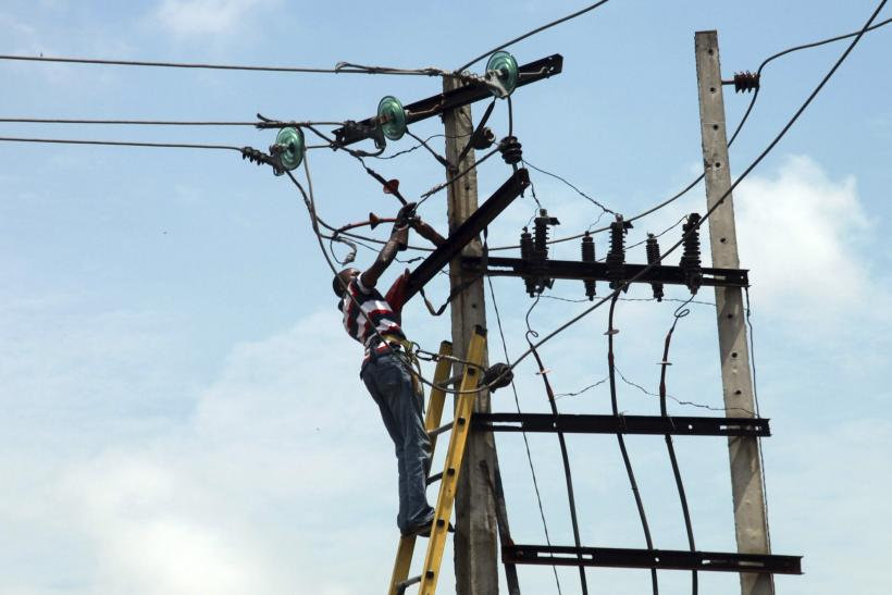 Power Lines in Nigeria