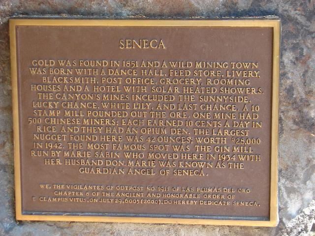 Seneca, California