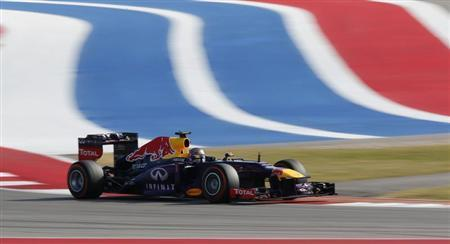 Vettel Sets Record With U.S. Grand Prix Win
