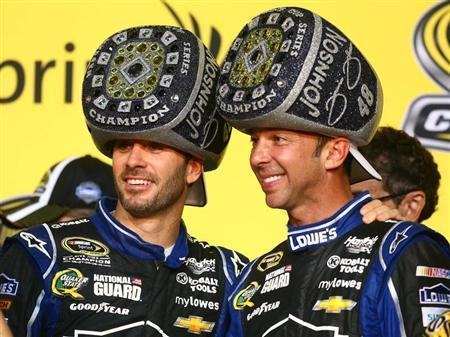 Jimmie Johnson Captures Sixth Sprint Cup Title