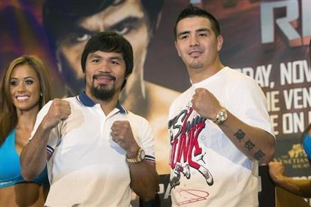 Pacquiao, Rios Ready To Face Off On PPV