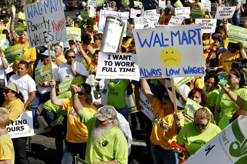 Wal-Mart workers' protest