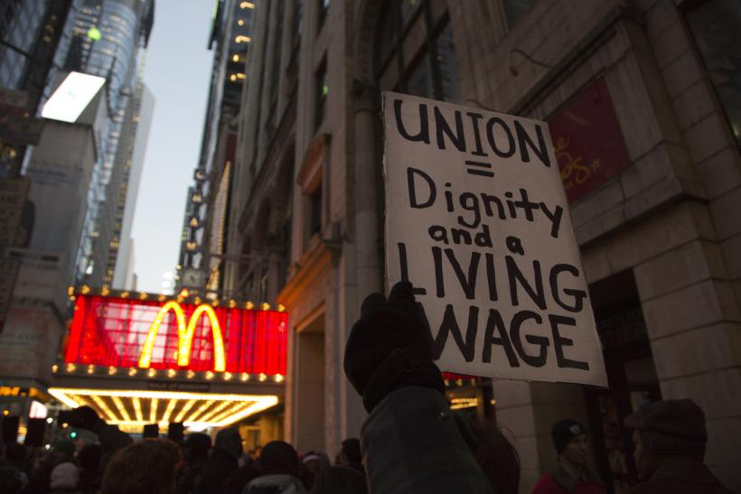 Minimum wage US NY 2012