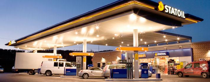 Statoil gas station