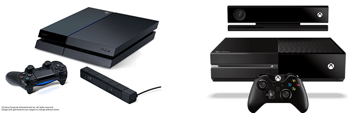 Xbox One and PlayStation 4 (PS4)