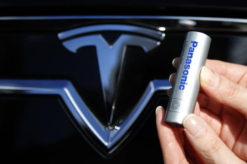 panasonic battery used in telsa model s
