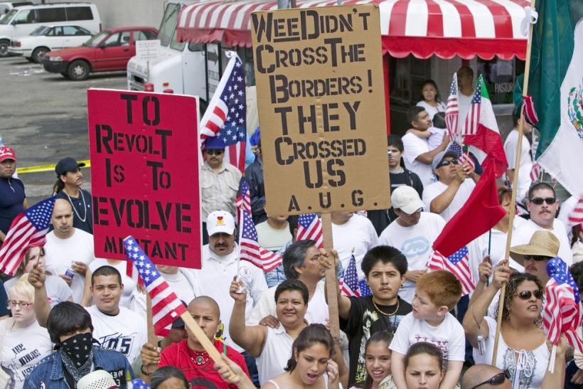US Immigration Rally LA Calif 2006