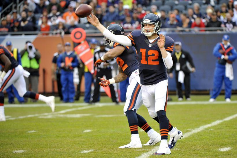 Josh McCown Chicago Bears
