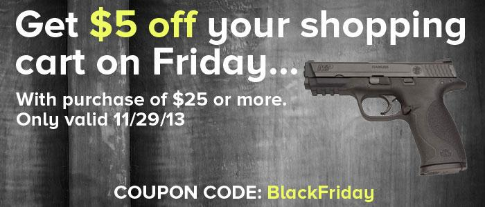 Black Friday Gun Deals
