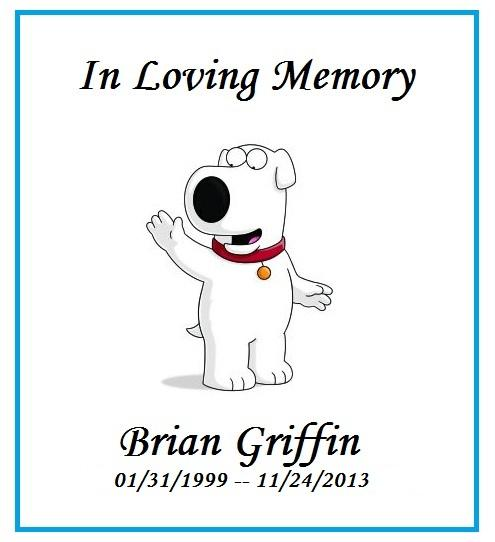 Brian Griffin Family Guy