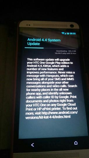 Google Play Edition HTC One Receives Android 4.4 KitKat; OTA Links, Kernel Source, And Framework Files Available [DOWNLOAD]