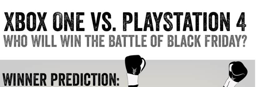 Xbox One Vs. PlayStation 4 (PS4) Infographic Teaser