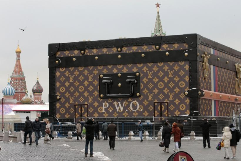 Louis Vuitton bag Moscow Russia