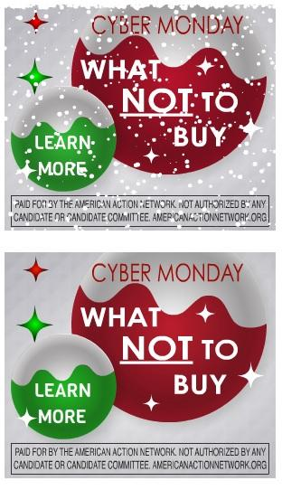 Conservative Cyber Monday Ad